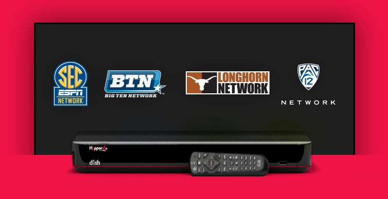 DISH College Sports TV Packages - Jefferson City, Missouri - Spyder Technologies - DISH Authorized Retailer